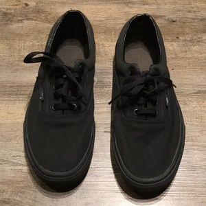 Black New Era Vans